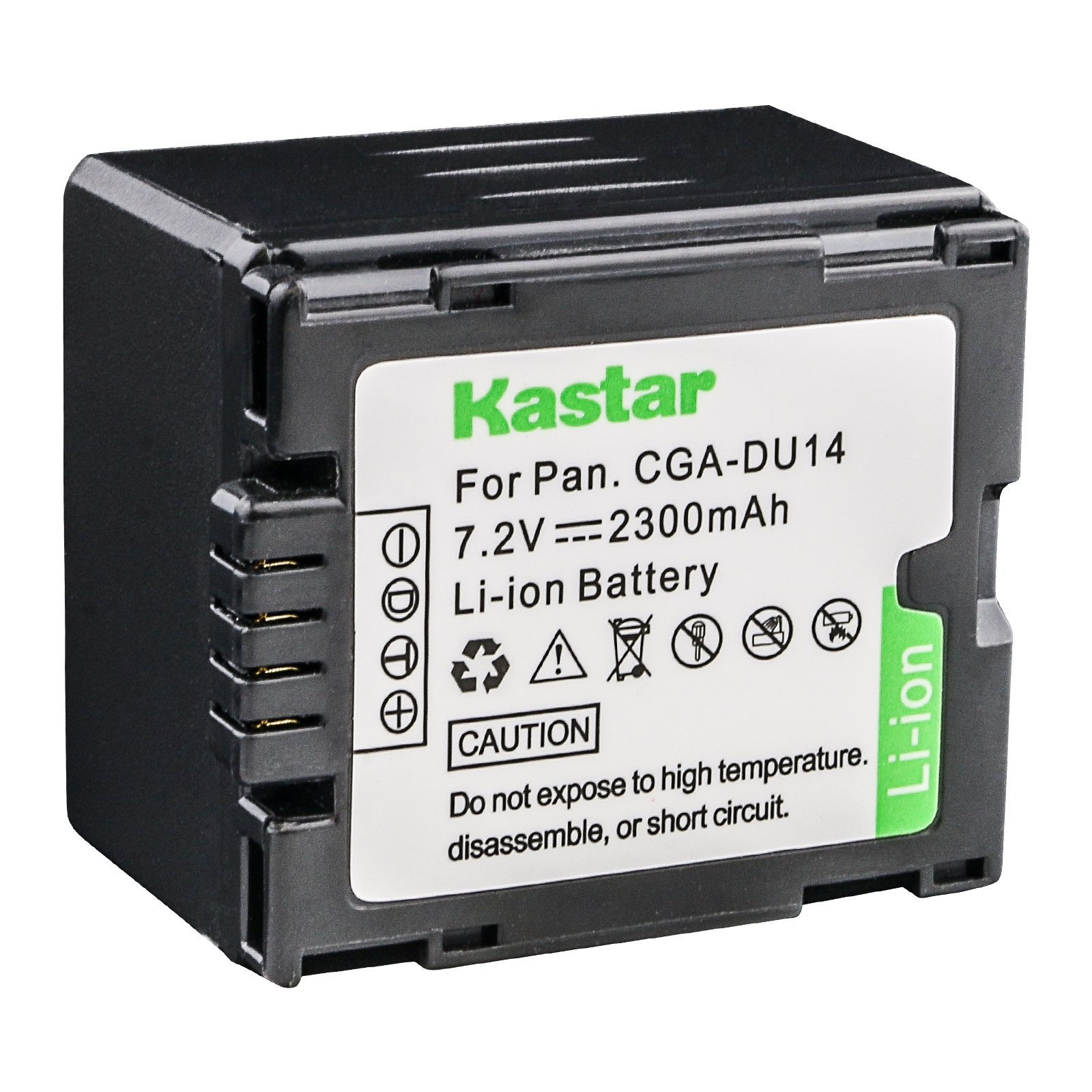 Kastar Hi-quality Replacement Battery for Panasonic CGA-DU12 CGA-DU14 CGA-DU14A/1B CGA-DU21 CGA-DU21A/1B Battery by Kastar