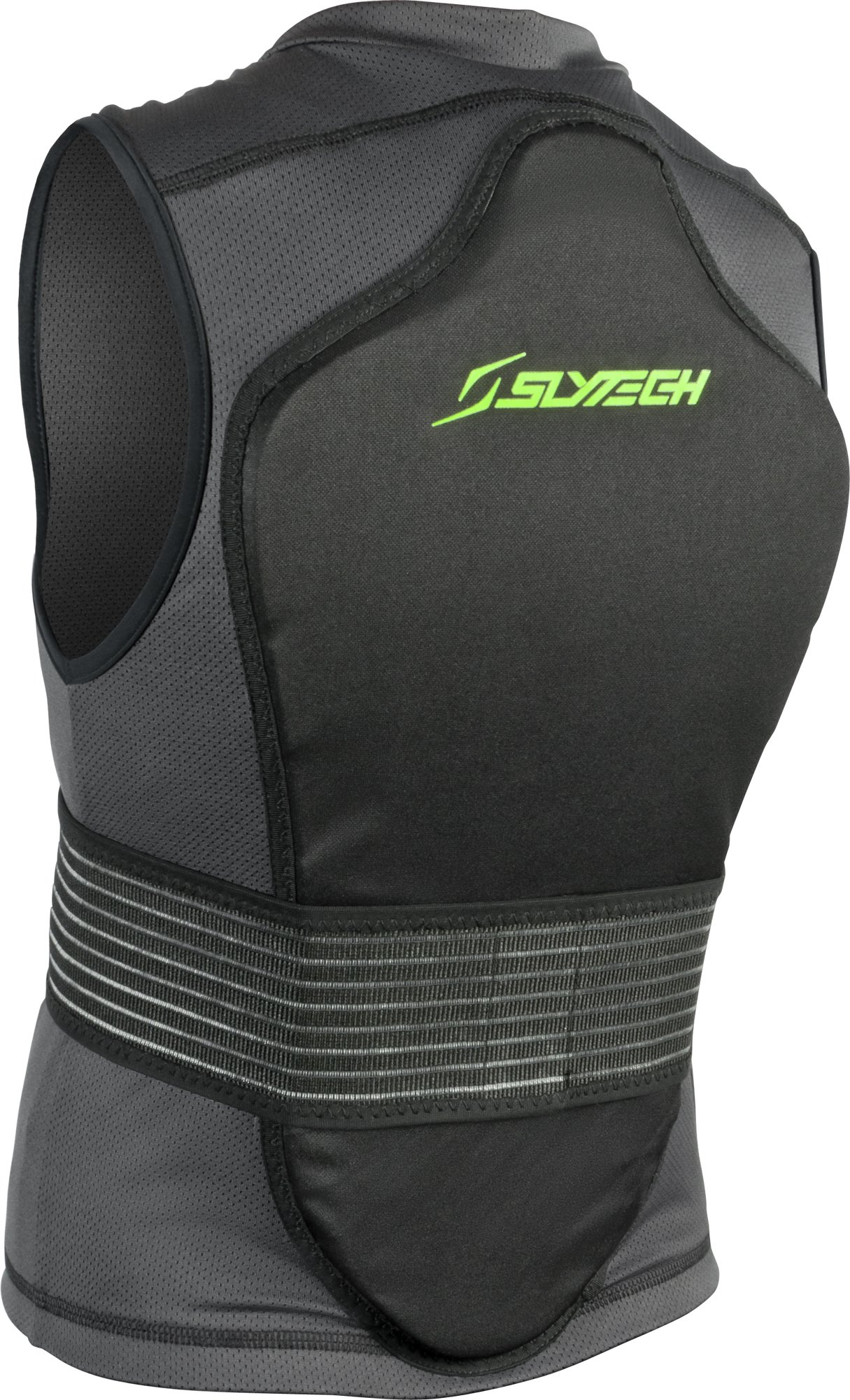 Slytech Protection Backpro One Mini Vest, XX-Small, Green/Black by Slytech Protection (Image #1)