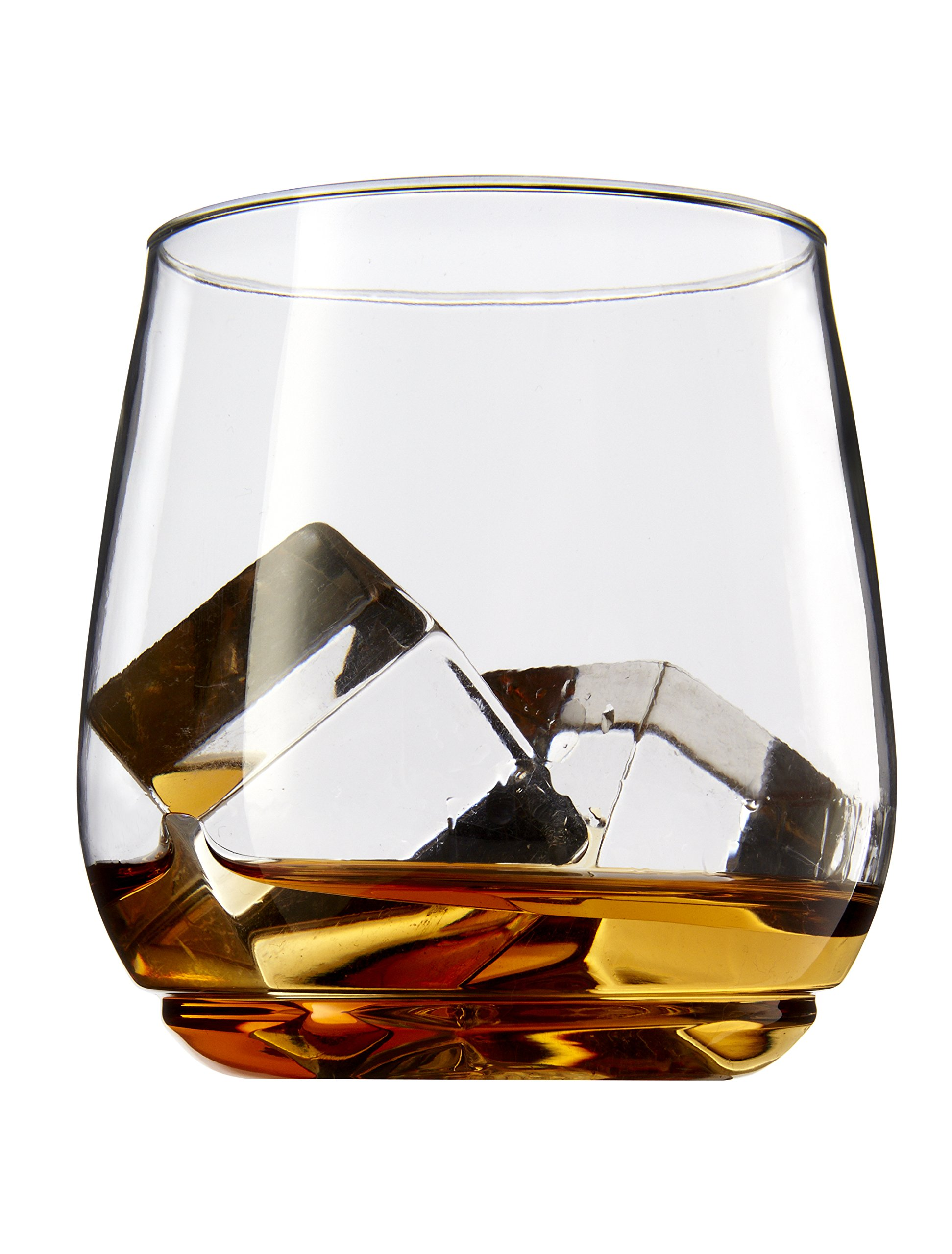 TOSSWARE 12oz Tumbler Jr - recyclable cocktail and whiskey plastic cup - SET OF 12 - stemless, shatterproof and BPA-free whiskey glasses