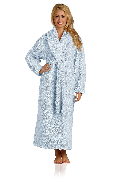 Plush Microfiber Robe - Soft, Warm, and Lightweight - Full Length PR