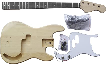Bass Electric Guitar Precision Bass – Kit de bricolaje – Construye ...