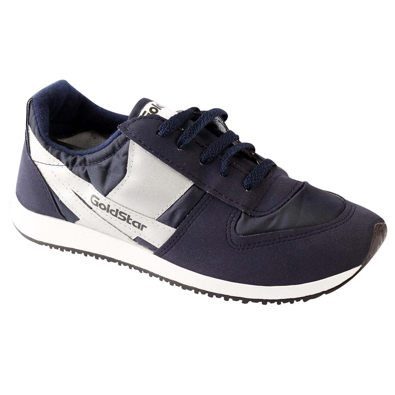 GoldStar Men's Running Shoes (Blue, 8