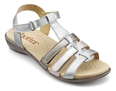 70bb528fb7f5 Hotter Womens Sol WS Extra Wide Sandals  Amazon.co.uk  Shoes   Bags
