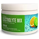 Electrolyte Mix Supplement Powder, 90 Servings, 72 Trace Minerals, Potassium, Sodium, Electrolyte Replacement Keto Drink…