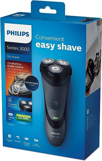 Philips SHAVER Series 3000 - Afeitadora (Batería/Corriente, Ión de ...