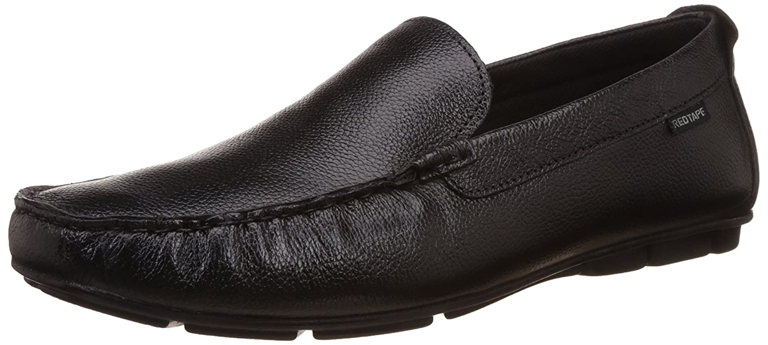 596c49d9e Red Tape Men s Slip On Leather Formal Shoes  Buy Online at Low Prices in  India - Amazon.in