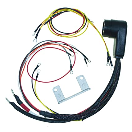 amazon com: cdi electronics 414-2770 mercury/mariner wiring harness-2/4/6  cyl  (1966-1981): automotive