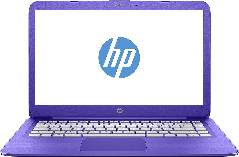 HP 14-ax020wm Stream Notebook 14in N3060 1.6 Ghz 4GB RAM 32gb eMmc Win10-Purple (Renewed)