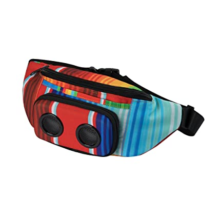b8893f079db2 The #1 Fannypack with Speakers. Bluetooth Fanny Pack for Parties/Festivals  / Raves/Beach / Boats. Rechargeable, Works with iPhone & Android. #1 ...