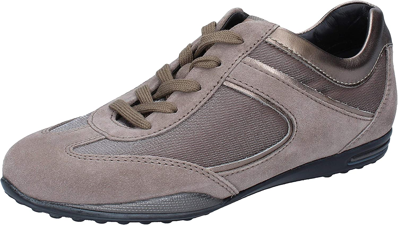 TOD'S Sneakers Mujer Gamuza Beige