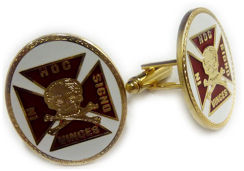 Masonic Collectibles Cruzados Caballeros templarios cráneo ...