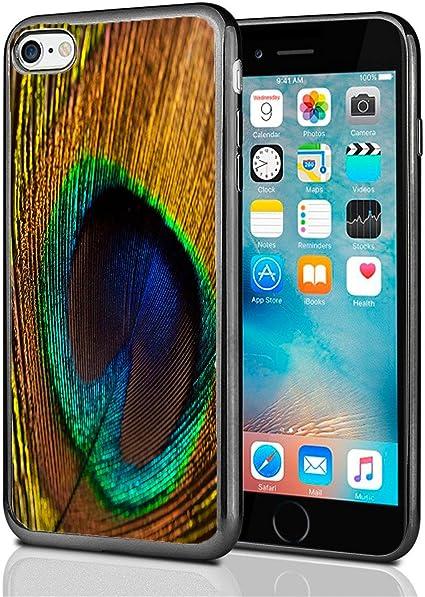 Plumes de paon pour iPhone 7 Coque par Atomic Marché