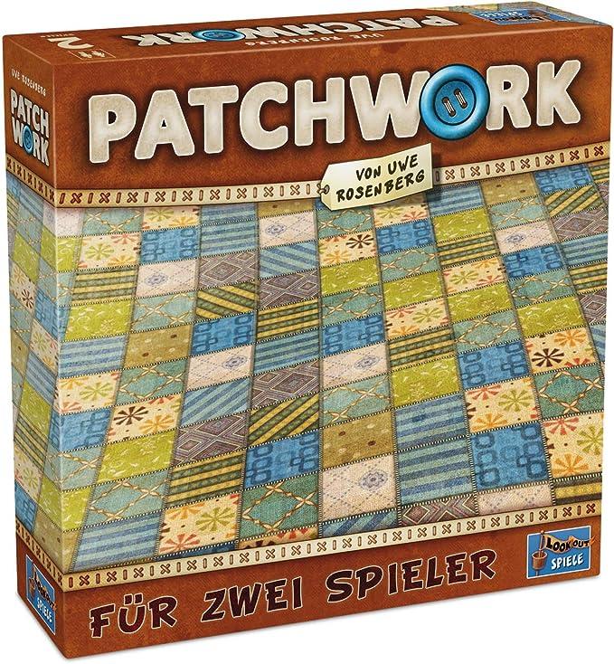 Lookout Juegos 231075 - Patchwork, Juego de Mesa de Uwe Rosenberg ...