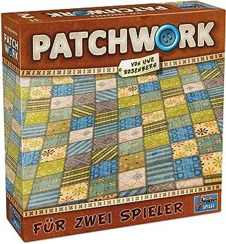 Lookout Juegos 231075 - Patchwork, Juego de Mesa de Uwe Rosenberg: Amazon.es: Juguetes y juegos