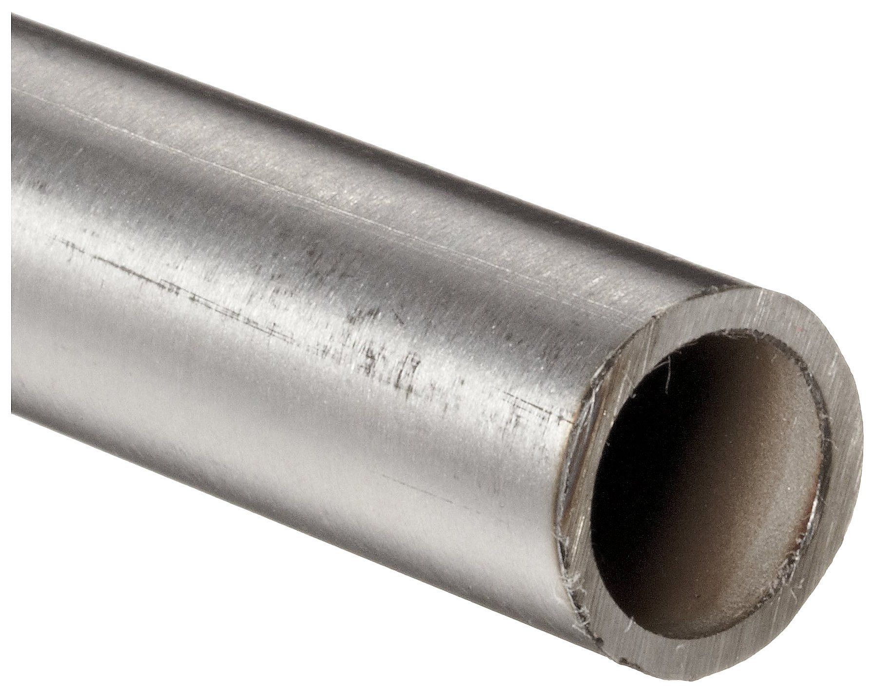 Stainless Steel 304L Seamless Round Tubing, 3/8'' OD, 0.305'' ID, 0.035'' Wall, 36'' Length