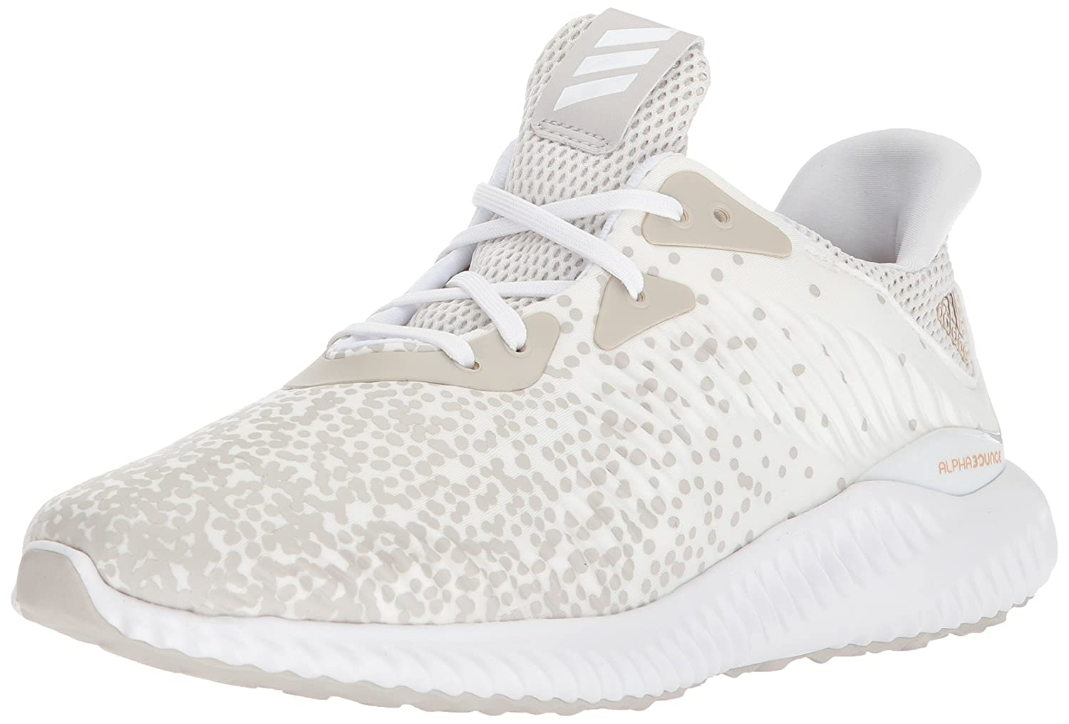 adidas Women's Alphabounce 1 W B071S6GYWH 5 B(M) US|White/White/Grey One