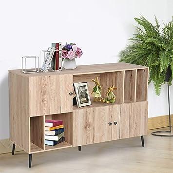 Mueble de Madera de Roble para Comedor, Sala de Estar, TV ...