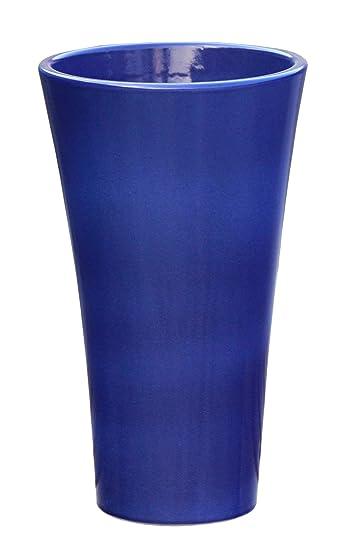 Neu Großer Pflanztopf Pflanzkübel frostsicher rund Ø 30 x 50 cm, Farbe  VJ23