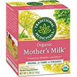 Traditional Medicinals Organic Mother's Milk Women's Tea 32ct (Pack of 3), Promotes Healthy Lactation for Breastfeeding Moms,