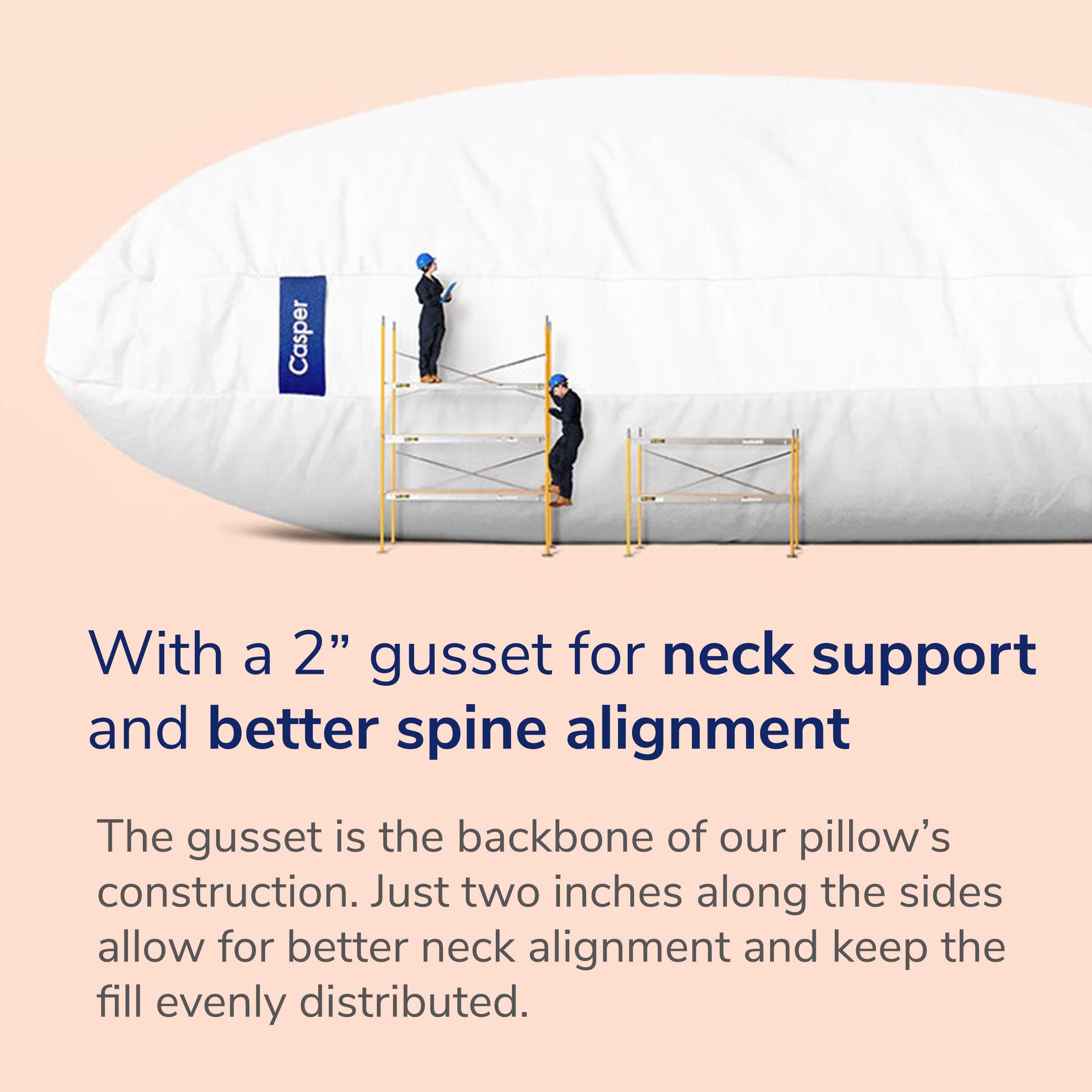 Casper Pillow for Sleeping, Standard, White by Casper Sleep (Image #4)