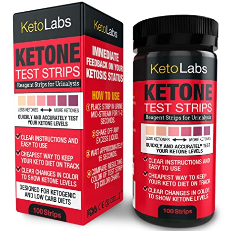 Ketone test strips low carb diet