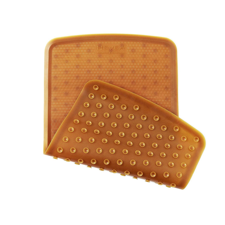 Safe Hevea Non Toxic Natural Rubber Non Slip Bath Mat Plastic Free