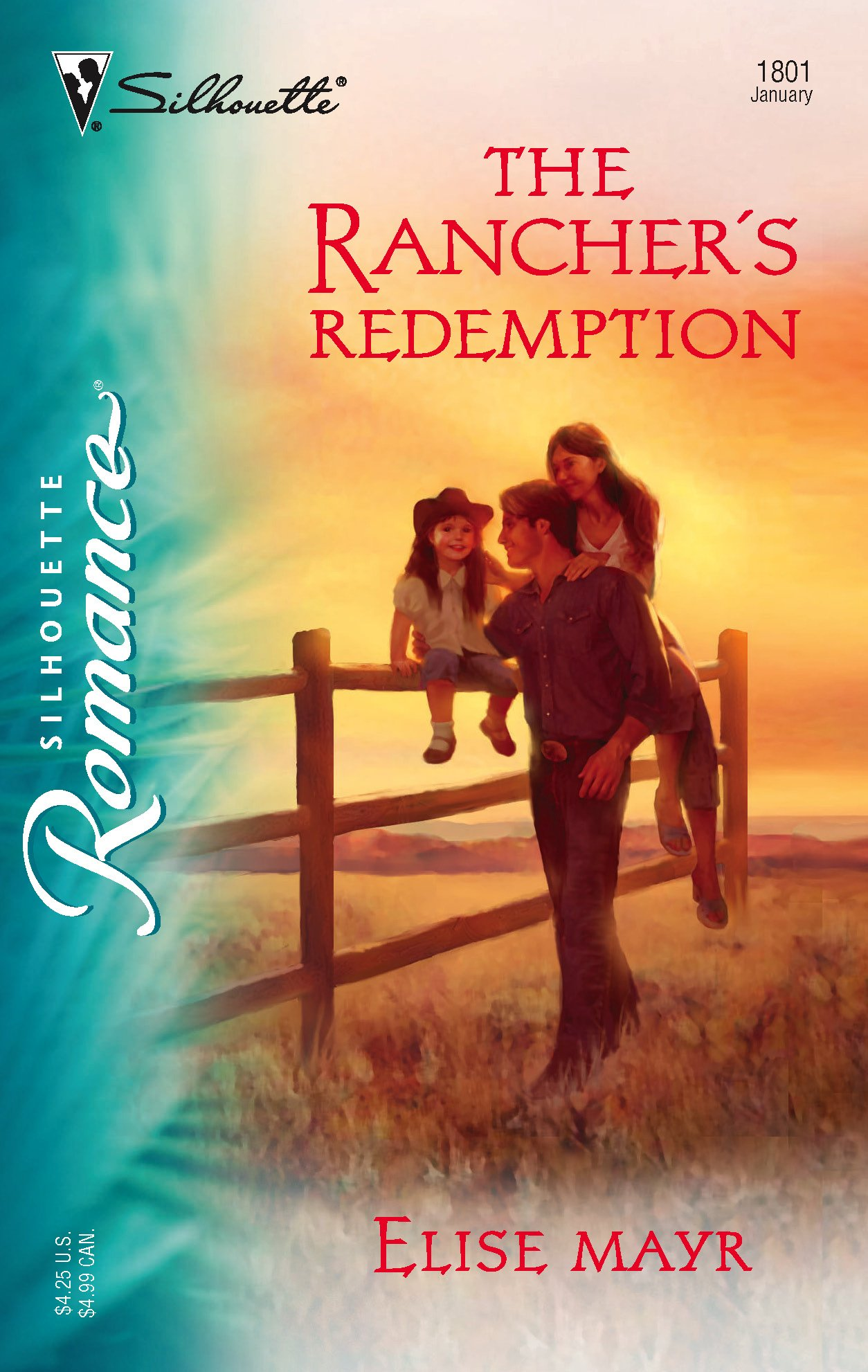 Download The Rancher's Redemption (Silhouette Romance) pdf