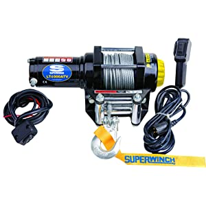 Superwinch Black 12 VDC ATV Winch - 4000 lb.
