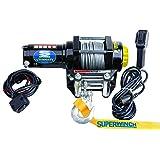 Superwinch (1140220) Black 12 VDC LT4000ATV Winch - 4000 lb. Load Capacity