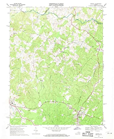 Amazon Com Yellowmaps Mineral Va Topo Map 1 24000 Scale 7 5 X