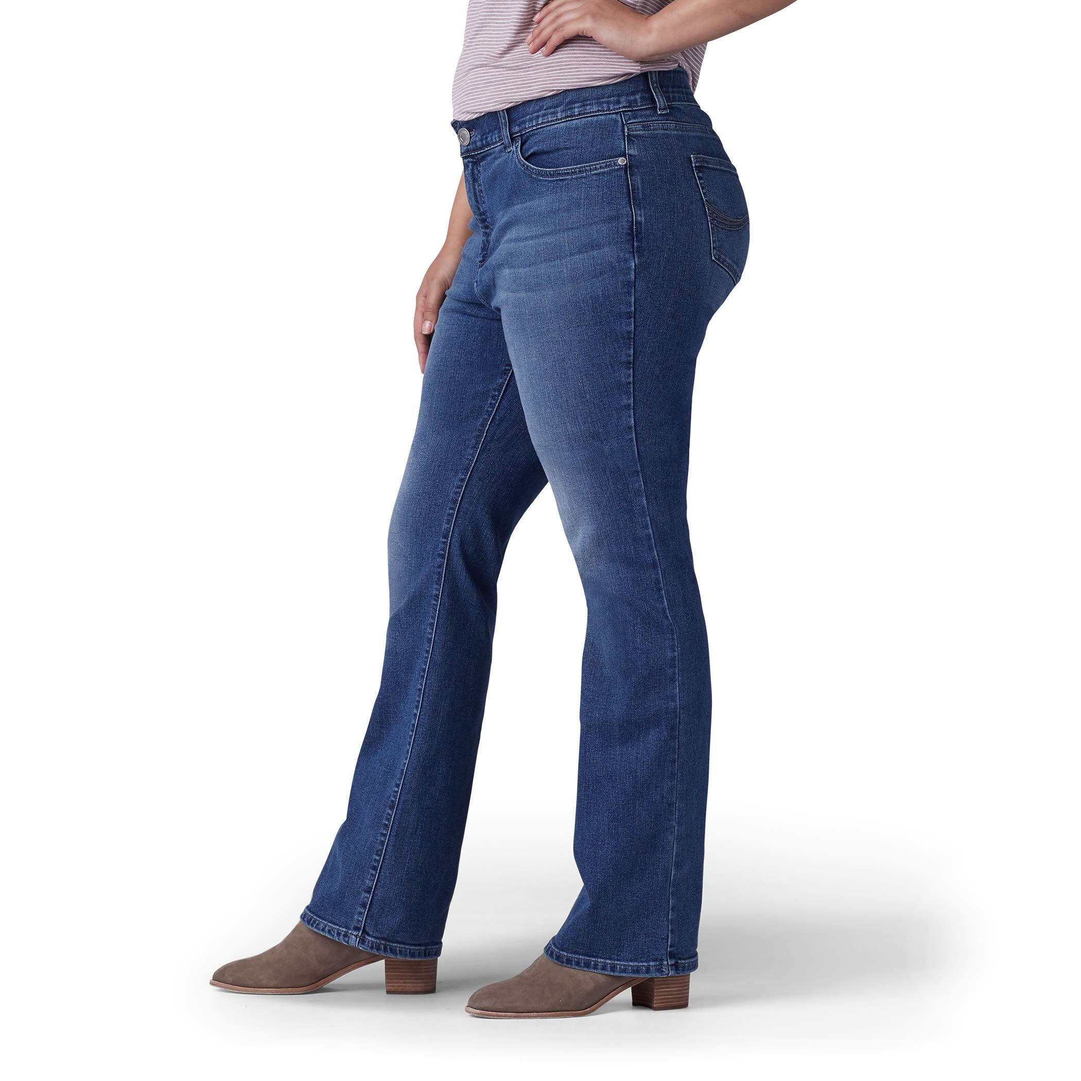 LEE Women/'s Plus-Size Flex Motion Regular Fit Boot Choose SZ//color
