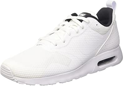 NIKE Men's Air Max Tavas WhiteWhiteBlack Running Shoe 7 Men US