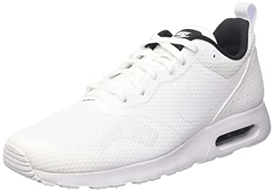 new product 59938 b073c Image Unavailable. Image not available for. Color NIKE Mens Air Max Tavas  WhiteWhiteBlack Running Shoe ...
