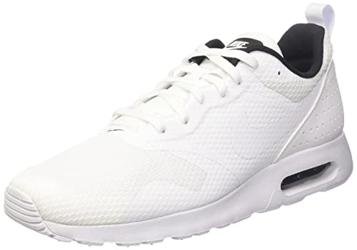 82e6cfd3ba9ed Nike Men s Air Max Tavas White White Black Running Shoe 10. 5 Men US ...