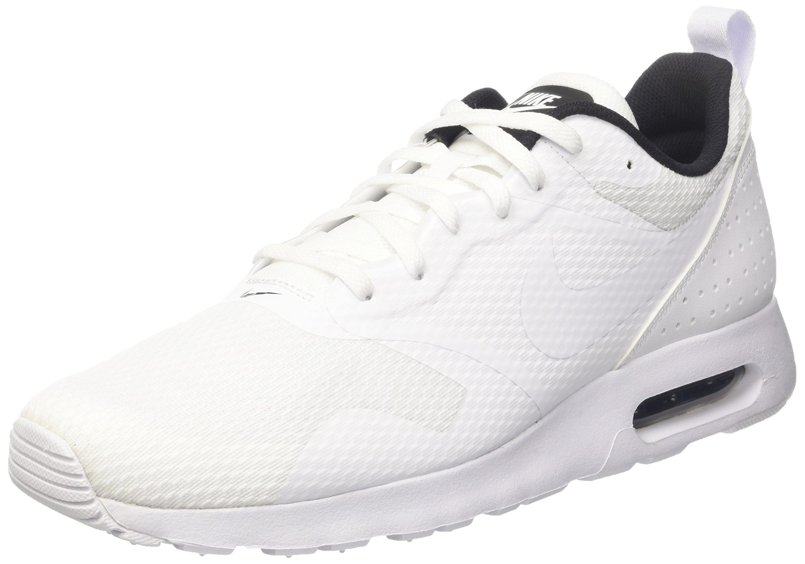 94d34f839e Galleon - Nike Air Max Tavas Running Shoes White/White-Black (8.5 US)