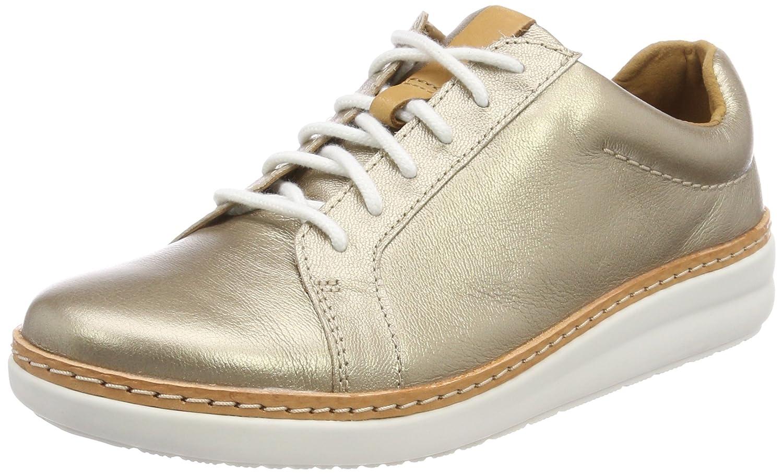 Clarks Amberlee Rosa, Zapatillas para Mujer 37 EU|Dorado (Gold Metallic)