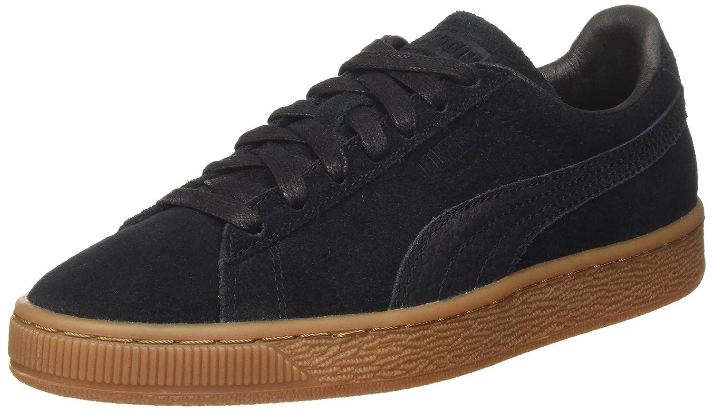 Puma Suede Classic Natural Warmth, Zapatillas Unisex Adulto 44.5 EU|Negro (Black-black)