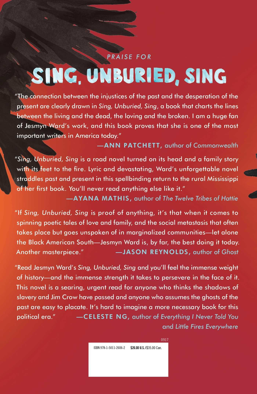 Sing, Unburied, Sing: A Novel: Jesmyn Ward: 9781501126062: Amazon: Books