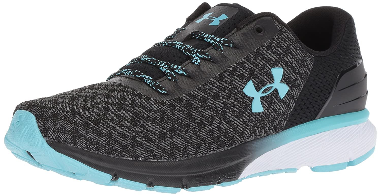 Under Armour Women's Charged Escape 2 Running Shoe B076RXV3MJ 6.5 M US|Black (001)/Graphite