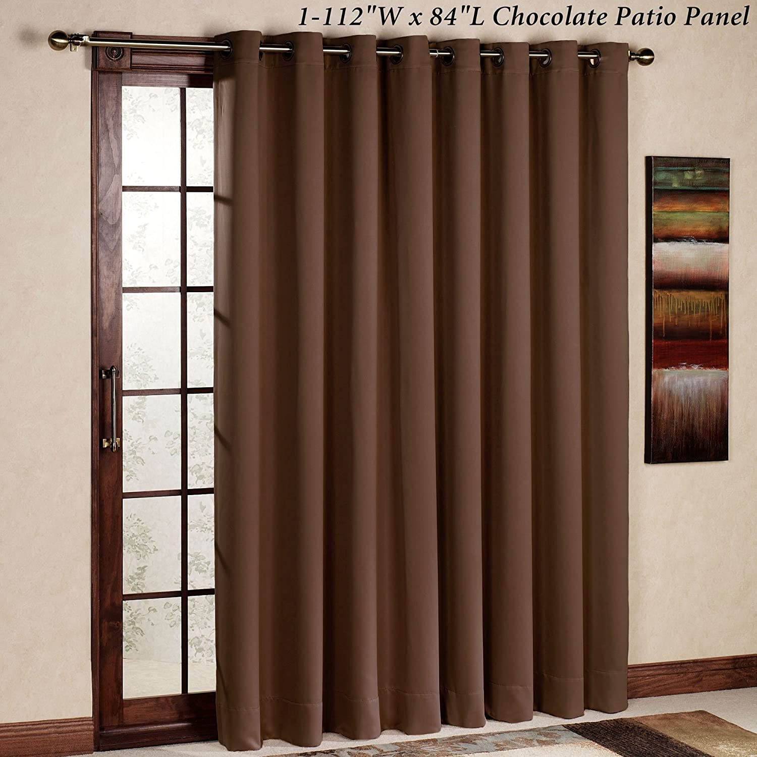 fabric for curtain sliding eclipse amazon curtains doors glass thermal lining best