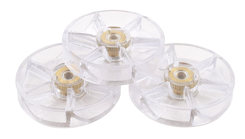 Pack of 3 Nutribullet Blender Top Gear Three Premium Boder Plastic Replacement Gears for Pro 900 Watt or 600 Blenders