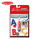 Melissa & Doug On the Go Water Wow! Alphabet Reusable Water-Reveal Activity Pad, Chunky-Size Water Pen