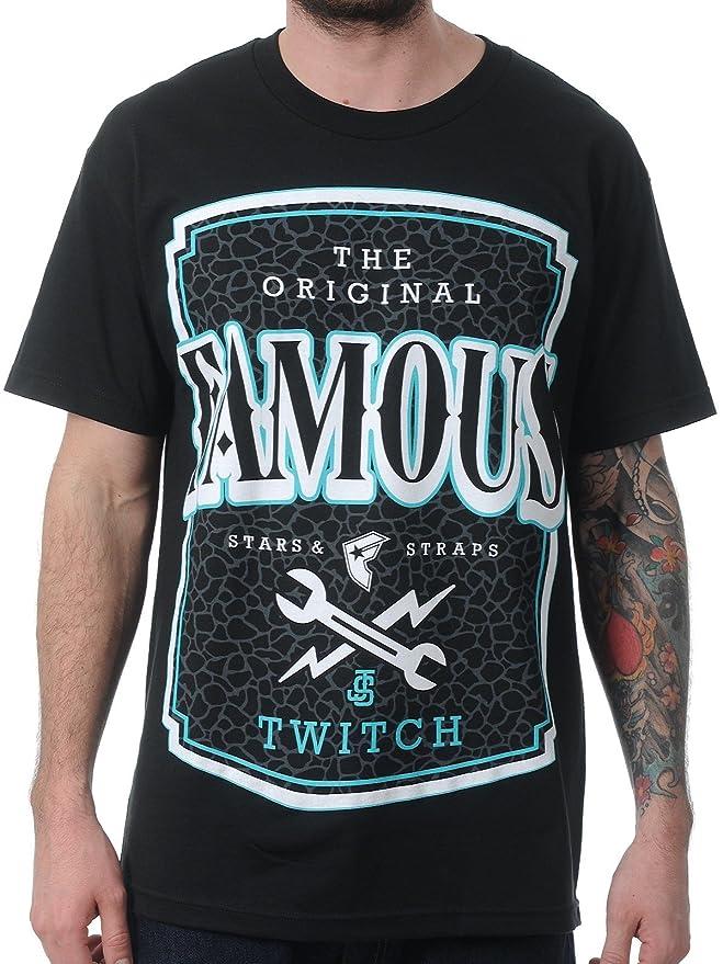 Twitch - Männer Twitch Lokale Label T-Shirt, Small, Black: Amazon.de:  Bekleidung