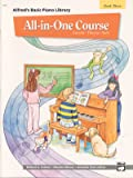All-in-One Course for Children: Lesson, Theory, Solo, Book 3 (Alfred's Basic Piano Library)