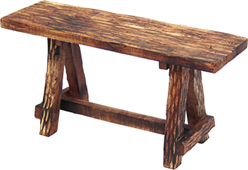 The Urban Port Wooden Garden Patio Bench