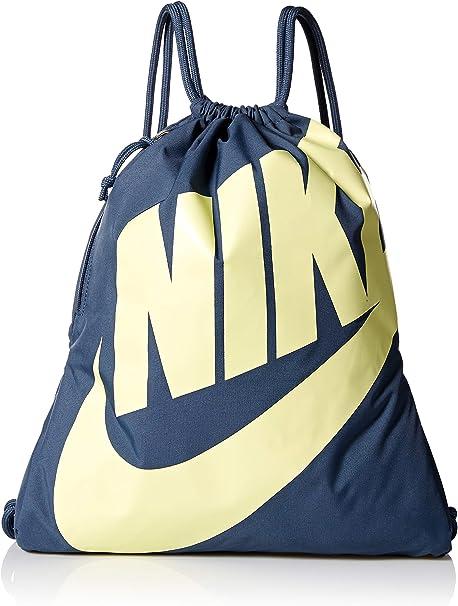 Amazon.com: Nike Heritage - Bolsa de deporte, Azul, MISC ...