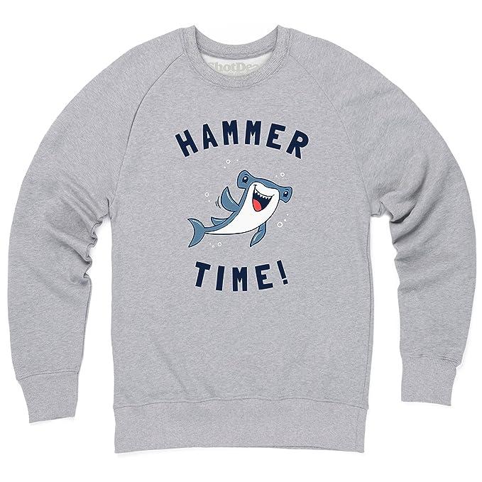 Hammer Time Sudadera de cuello redondo, Para hombre: Amazon.es: Ropa y accesorios