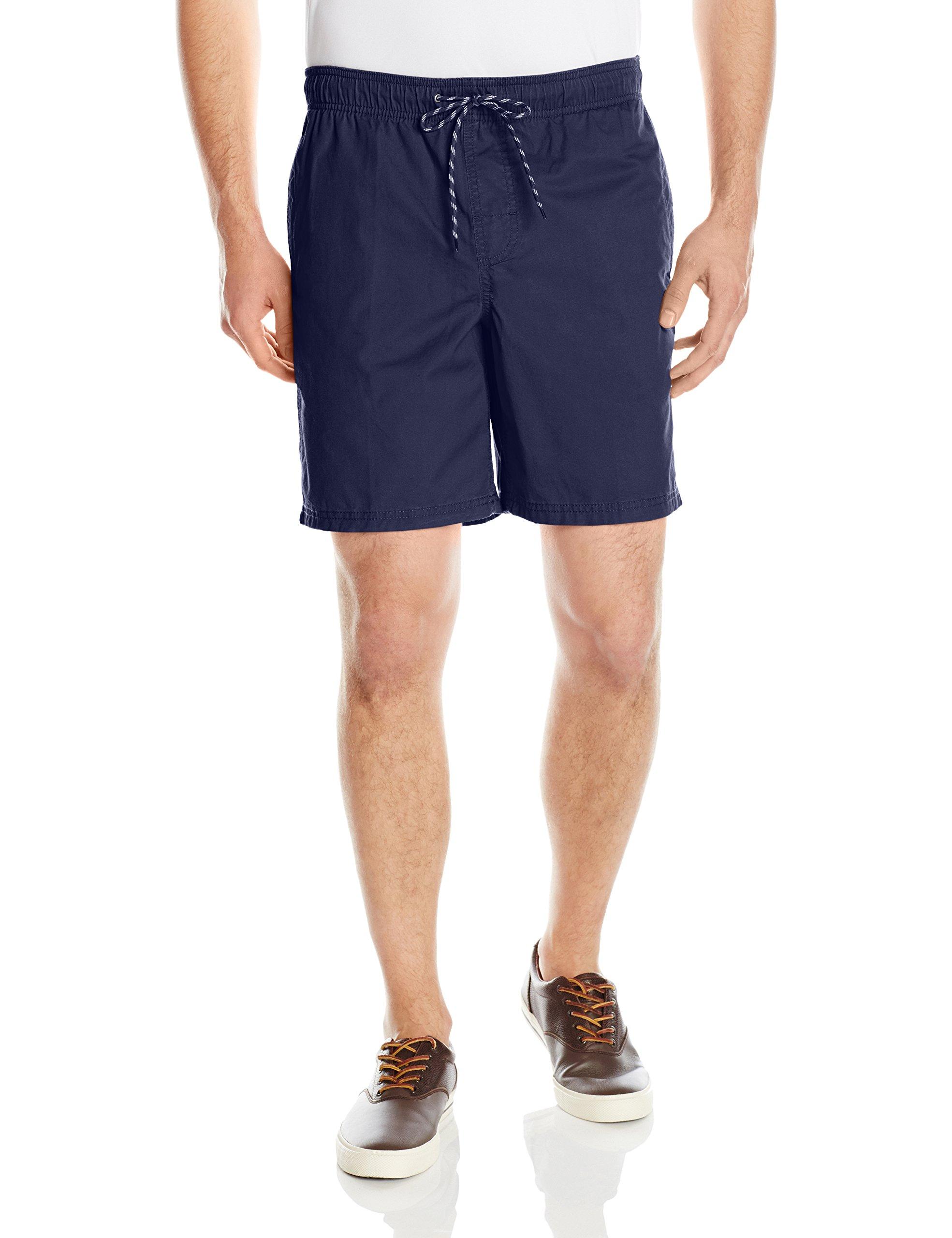 Amazon Essentials Men's Drawstring Walk Short, Navy, Large by Amazon Essentials