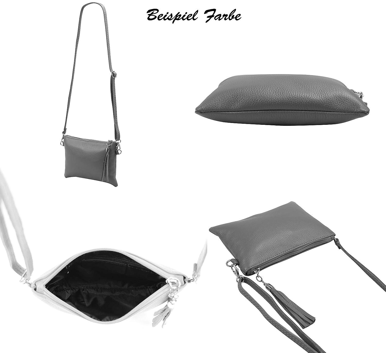 SH läder äkta läder axelväska clutch liten väska aftonväska 22 x 15 cm Anny G248 svart
