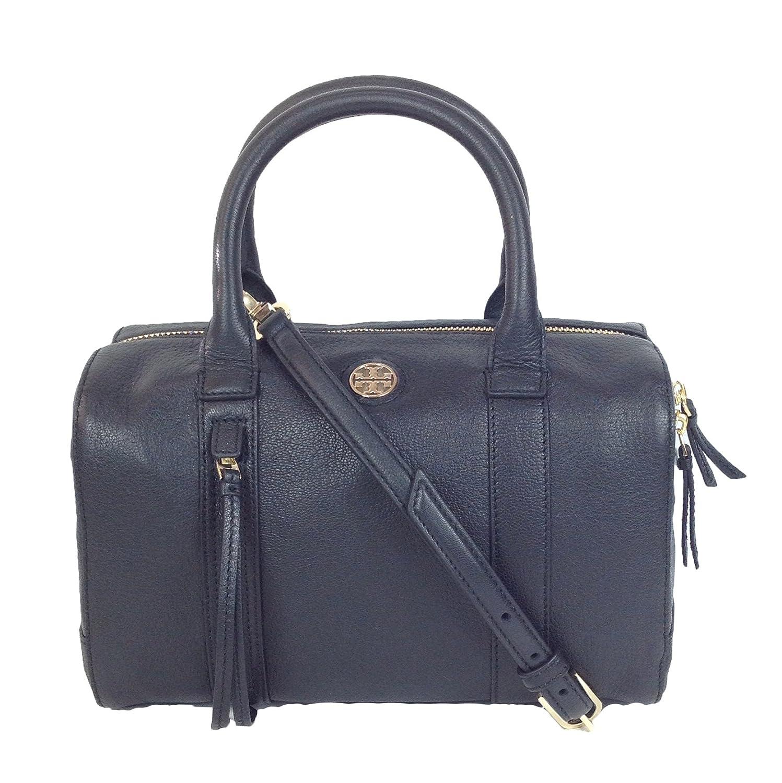 6e68ba3e1f Tory Burch Brody Small Leather Satchel, Black: Amazon.ca: Shoes & Handbags